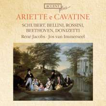 Rene Jacobs - Ariette e Cavatine, CD