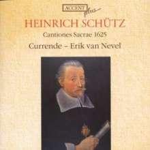 Heinrich Schütz (1585-1672): Cantiones sacrae SWV 56-66,69,71-75, CD