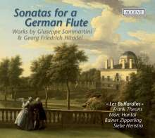 Sonatas for a German Flute - Musik von Sammartini & Händel, CD