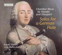 Solo for the German Flute - Musik von Händel & Dieupart, CD