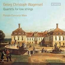 Georg Christoph Wagenseil (1715-1777): 3 Quartette für 3 Celli & Kontrabaß, 2 CDs