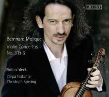 Wilhelm Bernhard Molique (1802-1869): Violinkonzerte Nr.3 d-moll op.10 & Nr.6 e-moll op.30, CD