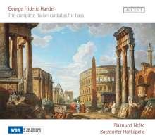 Georg Friedrich Händel (1685-1759): Italienische Kantaten für Baß, CD