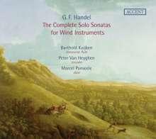 Georg Friedrich Händel (1685-1759): Sämtliche Bläsersonaten, 2 CDs