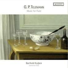 Georg Philipp Telemann (1681-1767): Musik für Flöte, 4 CDs