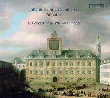 Johann Heinrich Schmelzer (1623-1680): 9 Sonaten für Zink, CD