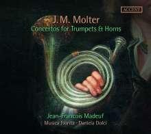 Johann Melchior Molter (1696-1765): Konzerte für Trompeten & Hörner, CD