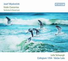 Josef Myslivecek (1737-1781): Violinkonzerte D-Dur, E-Dur, A-Dur, CD