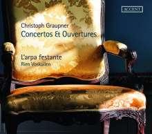 Christoph Graupner (1683-1760): Ouvertüren a-moll GWV 470 & g-moll GWV 478, CD