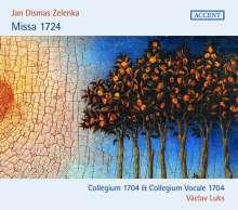 Jan Dismas Zelenka (1679-1745): Missa 1724, CD