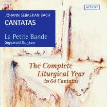 Johann Sebastian Bach (1685-1750): Kantaten für das liturgische Jahr, 19 CDs
