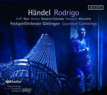 Georg Friedrich Händel (1685-1759): Rodrigo, 3 CDs