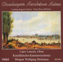 Ludwig August Lebrun (1752-1791): Oboenkonzert in C, CD