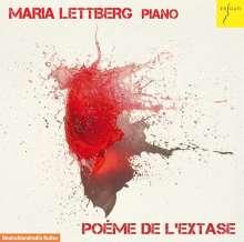Maria Lettberg - Poeme de L'Extase, CD