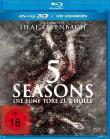 5 Seasons - Die fünf Tore zur Hölle (3D Blu-ray), Blu-ray Disc