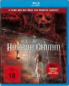 Best of Horror Grimm (Blu-ray), Blu-ray Disc