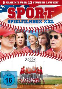 Sport Spielfilmbox XXL (9 Filme auf 3 DVDs), 3 DVDs