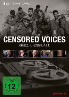 Censored Voices (OmU), DVD
