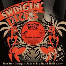 "Swingin' Dick's Shellac Shakers 02 - Hot Jive, Jumpin' Jazz & Big Band R&B 78rpms, Single 10"""