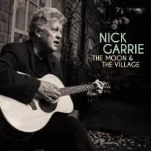Nick Garrie: The Moon & The Village, 1 LP und 1 CD