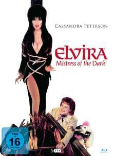 Elvira - Herrscherin der Dunkelheit (Blu-ray & DVD in Metallbox), 2 Blu-ray Discs und 1 DVD