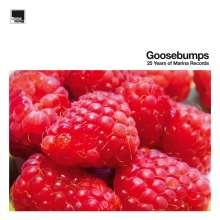Goosebumps - 25 Years Of Marina Records (Orange/Yellow/Red Vinyl), 3 LPs