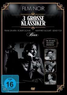 Film Noir - 3 grosse Klassiker, DVD