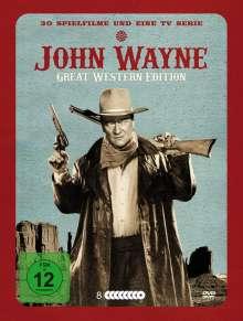 John Wayne - Great Western Edition (30 Filme und 1 TV-Serie auf 8 DVDs), 8 DVDs