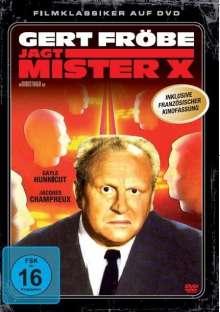 Gert Fröbe jagt Mister X (Der Mann ohne Gesicht), DVD