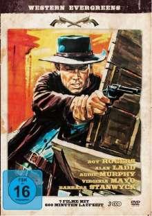 Western Evergreens (7 Filme auf 3 DVDs), 3 DVDs