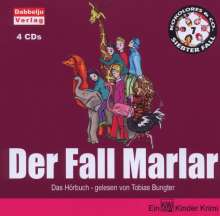 Tobias Bungter: Der Fall Marlar, 4 Audio-CDs, CD