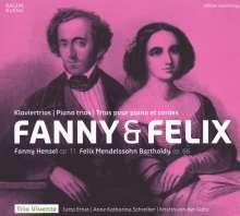 Fanny Mendelssohn-Hensel (1805-1847): Klaviertrio op.11, CD