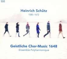 Heinrich Schütz (1585-1672): Geistliche Chormusik 1648 SWV 289,294,325,374,377,378-381,383,386,388-391, CD