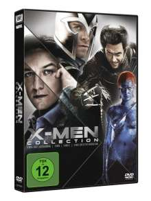 X-Men Movies Collection, 4 DVDs