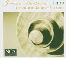 Johann Mattheson (1681-1764): 12 Sonaten für Flöte oder Violine & Bc, 2 CDs