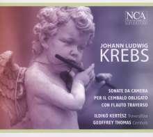 Johann Ludwig Krebs (1713-1780): Sonata da camera Nr.1-4 f.Flöte & Cembalo, CD