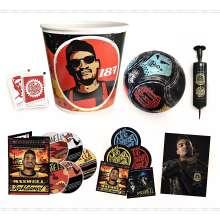 Maxwell: Kohldampf (Limited-Bucket-Box), 5 CDs und 1 Merchandise