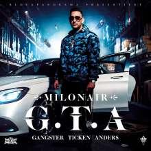 Milonair: G.T.A. (Gangster Ticken Anders), CD