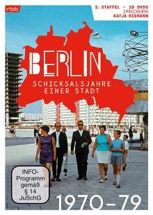 Berlin - Schicksalsjahre einer Stadt Staffel 2 (1970-1979), 10 DVDs