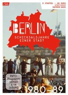 Berlin - Schicksalsjahre einer Stadt Staffel 3 (1980-1989), 10 DVDs