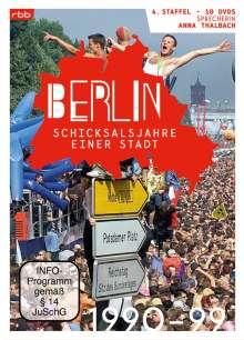 Berlin - Schicksalsjahre einer Stadt Staffel 4 (1990-1999), 10 DVDs