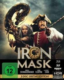 Iron Mask (Ultra HD Blu-ray, 3D Blu-ray & Blu-ray im Mediabook), 1 Ultra HD Blu-ray und 2 Blu-ray Discs
