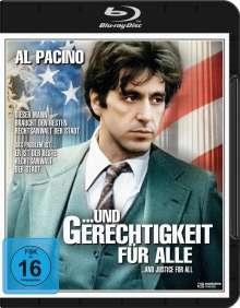 Und Gerechtigkeit für alle (Blu-ray), Blu-ray Disc