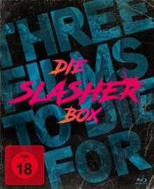 Die Slasher-Box - Three Films To Die For (Blu-ray), 3 Blu-ray Discs