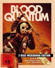 Blood Quantum (Blu-ray & DVD im Mediabook), 1 Blu-ray Disc und 1 DVD