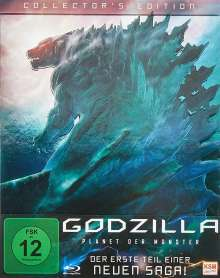 Godzilla: Planet der Monster (Collector's Edition) (Blu-ray), Blu-ray Disc