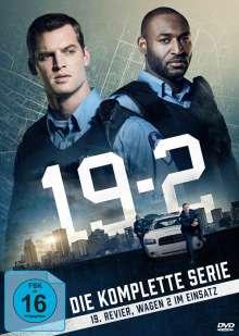 19-2 (Komplette Serie), 11 DVDs