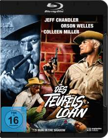 Des Teufels Lohn (Blu-ray), DVD