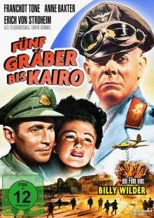 Fünf Gräber bis Kairo, DVD