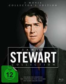 James Stewart Collection (Collector's Edition) (Blu-ray), 3 Blu-ray Discs
